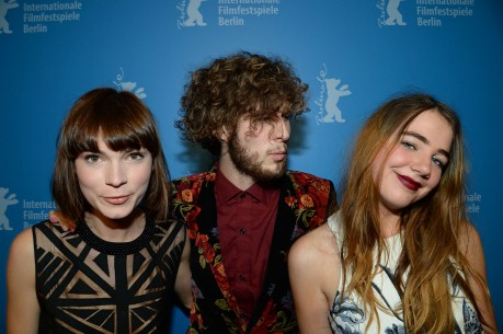 52 Tuesdays co-stars Tilda Cobham-Hervey, Sam Althuizen and Imogen Archer at the Berlin International Film Festival 2014 via berlinale