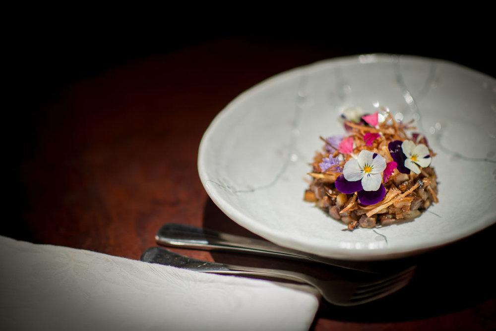Degustation dining via  Hill of Grace