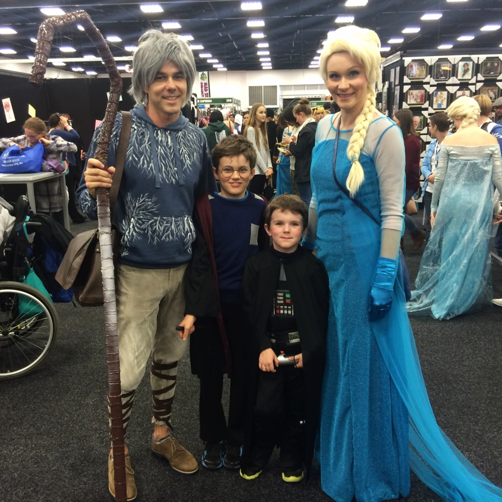 Jack Frost, Elsa, Harry Potter, and of course, Darth Vader.