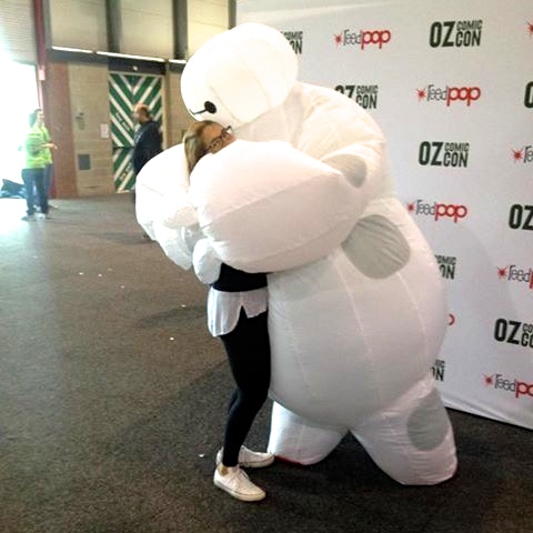 Baymax obviously mistook me for Hiro.
