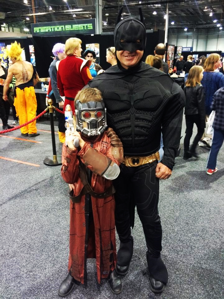 "How would you describe the atmosphere at Adelaide Ozcomic-Con? BATDAD ""Easy-going and casual."" Can you relate to your characters in any way? BATDAD: ""Yeah..I think we can. I s'pose!"""