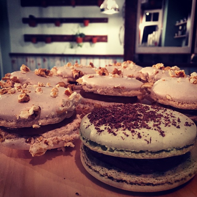 Massive Macarons via Handsome and the Duchess