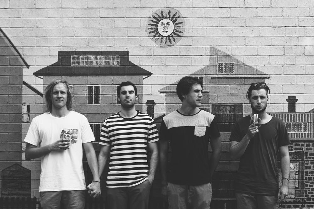 L-R: Matt, Joe, Callum and Doug