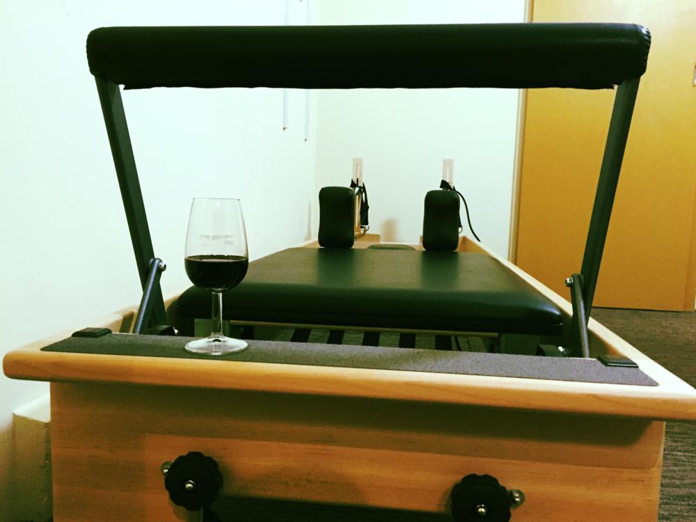 Wine +Pilates = the best combo