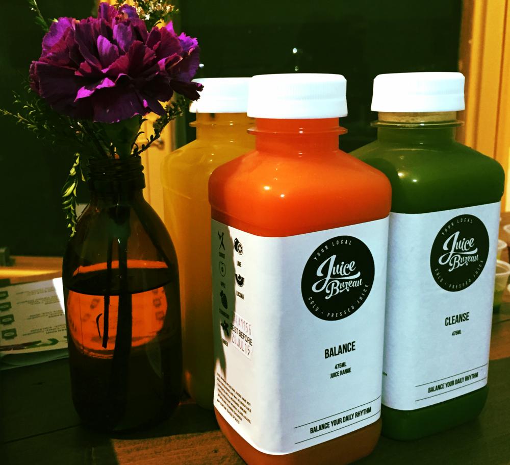 Juice is always a good idea.