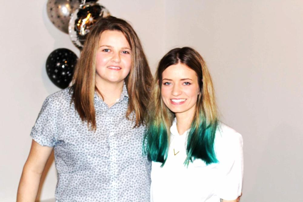 Company creators, Nikki Merritt and Sharni Rosser