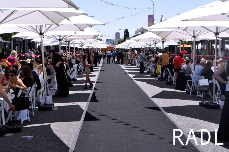 Adelaide's Longest Fashion Runway - Variety on King William 2014