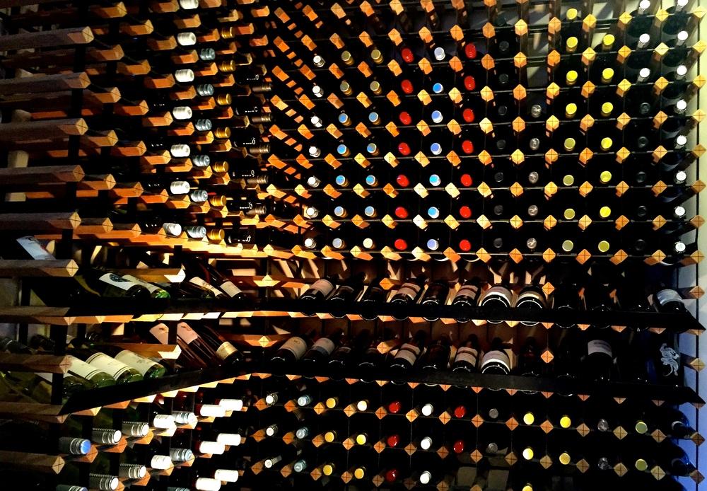 Wine cellar goals.