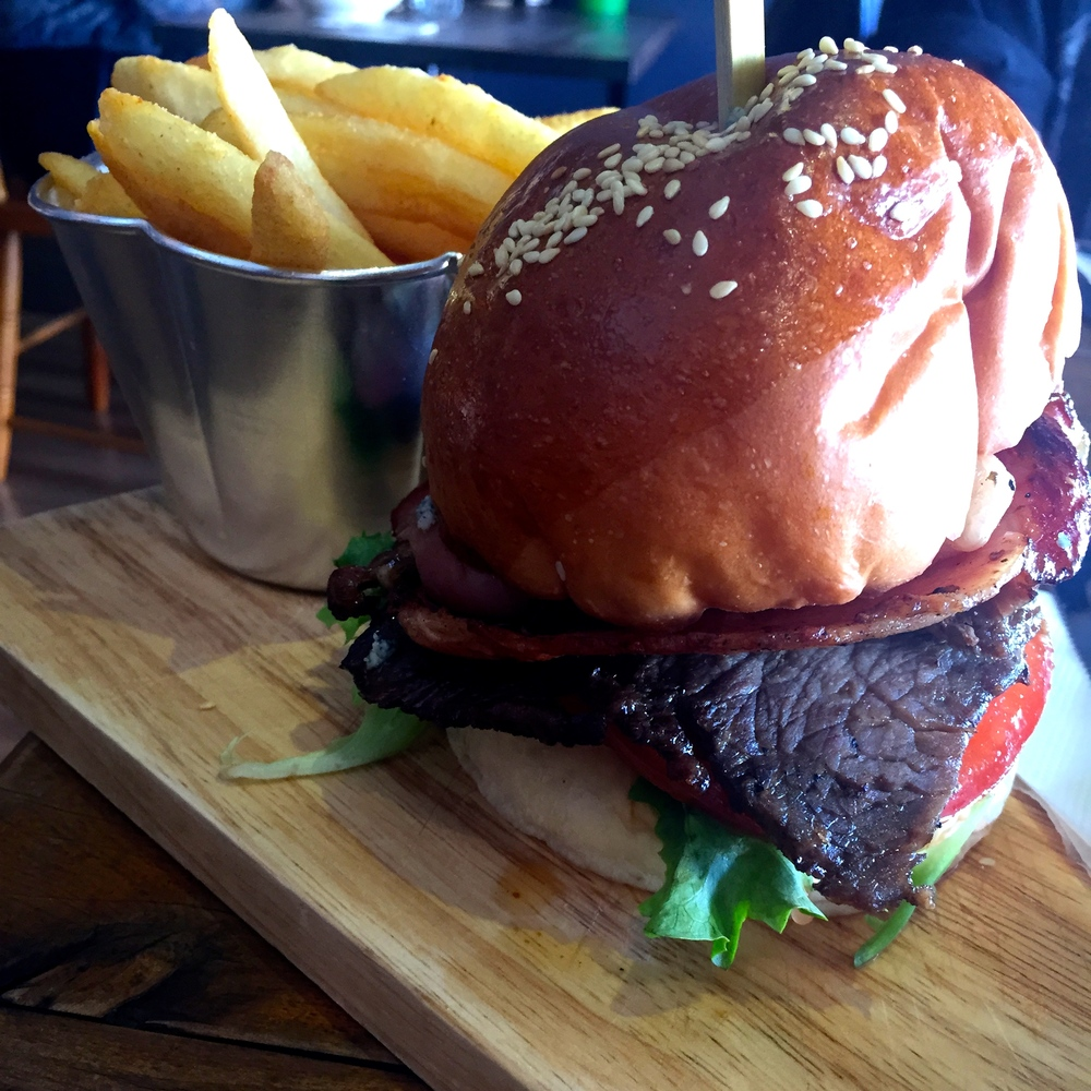 Scotch Fillet Steak Burger