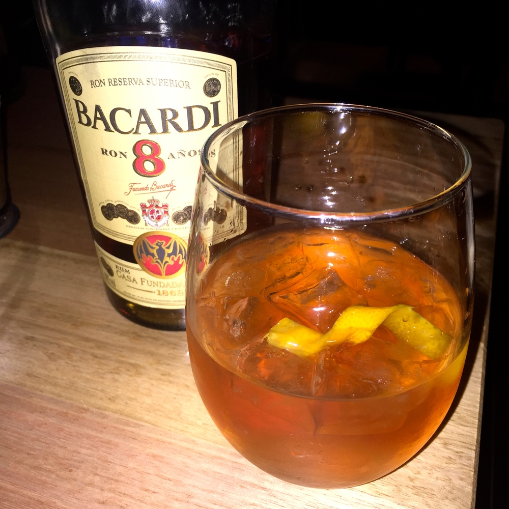 Cocktail Bacardi — Radelaide Is This Masterclass Glass Frosted