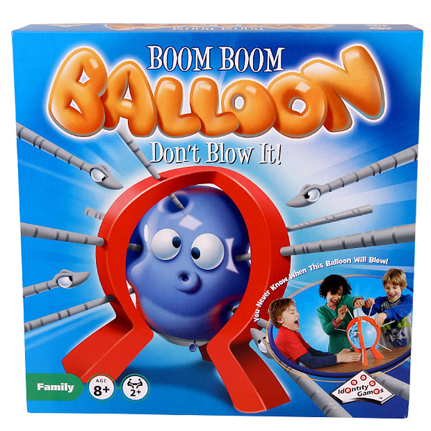 For those of you playing along at home THIS is Boom Boom Balloon via  Target
