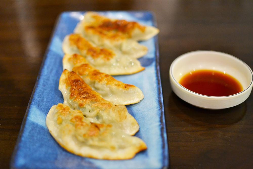 Mandu (Korean fried dumplings)