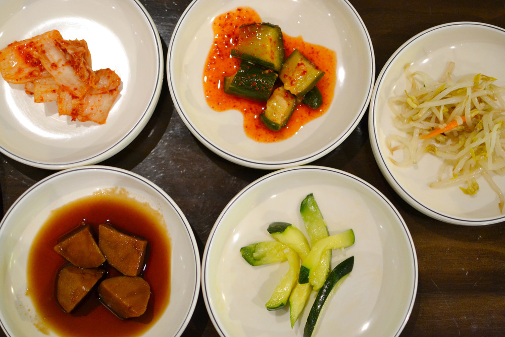 Assortment of Korean Side Dishes