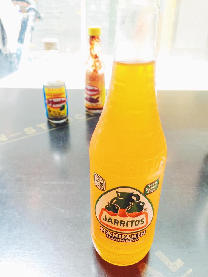 Mexican mandarin flavoured soda