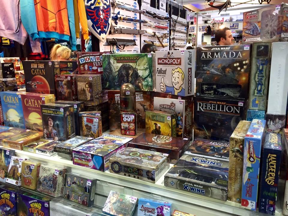 So many board games!