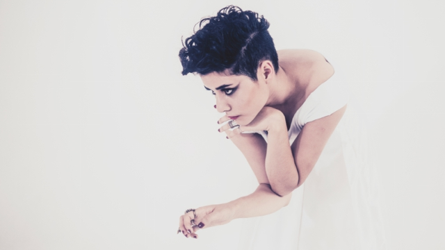 Sydney singer Montaigne blew everyone away with her voice during '1955'. Image via the AU Review
