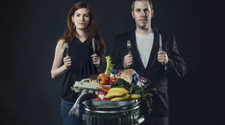 "This year: ""Just Eat It + A Short Life In Syntropy"": After seeing the billions of food that is thrown away, Jen and Grant pledge to quit grocery shopping, and live of food that would otherwise be put in the bin."