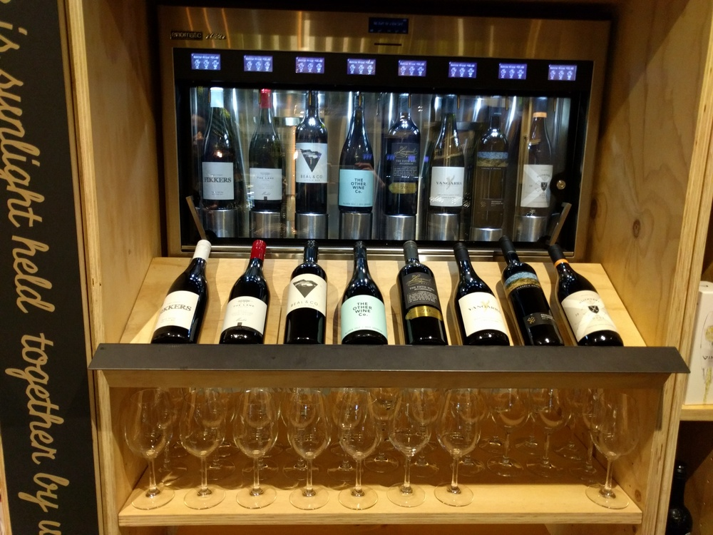 Wine selection Enomatic