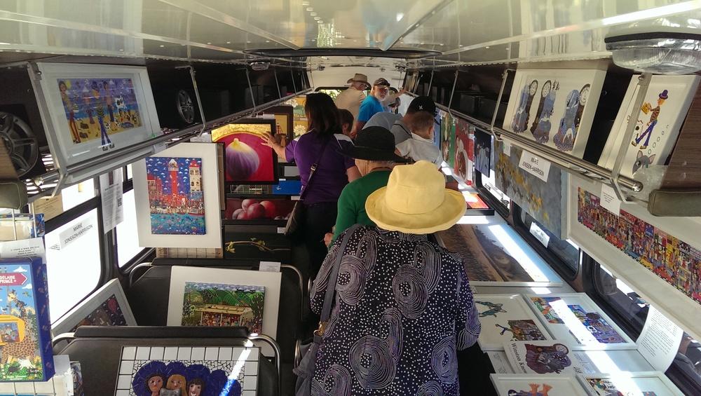 a bus full of art SALA 2016