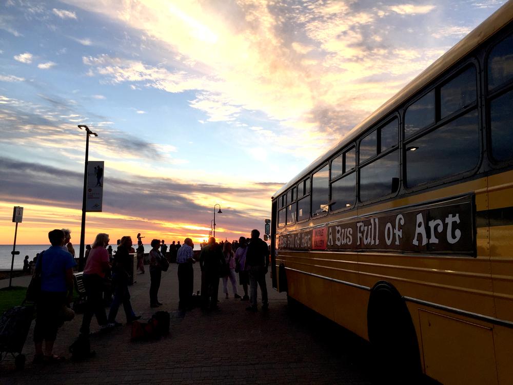 a bus full of art 2016 SALA