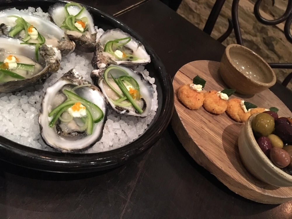 Bistro Dom Oysters