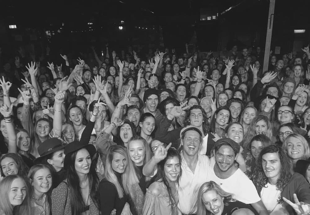 Post concert selfie via Garrett Keto