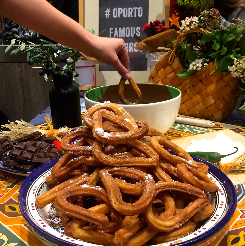Year round Churros? Yes please.