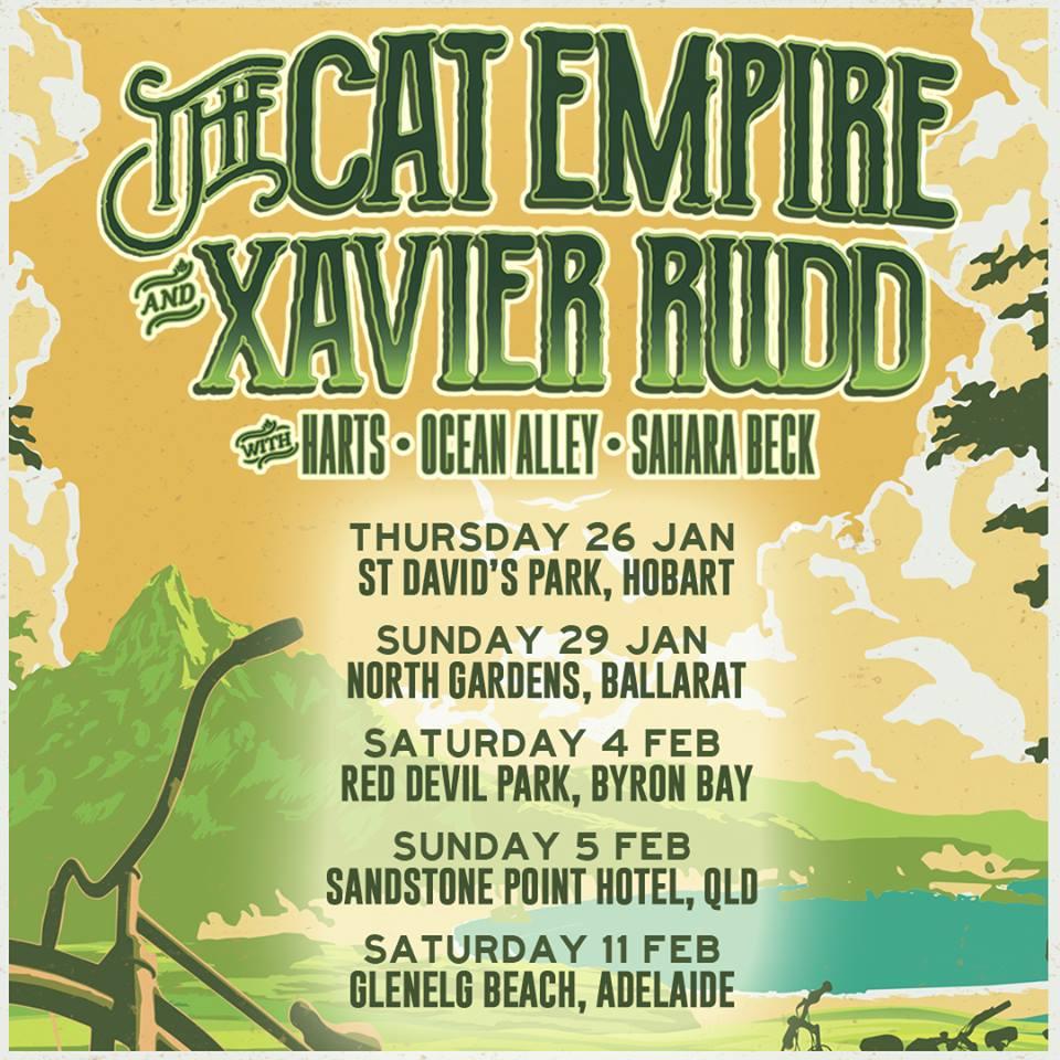 The Cat Empire and Xavier Rudd