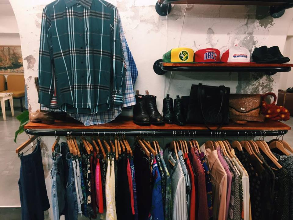 Vintage and street-wear galore.