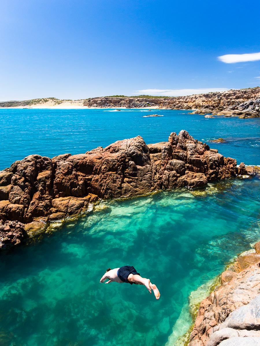 "Shell Beach Rock pool - the ""secret"" spot"
