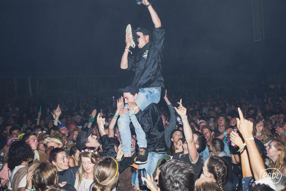 Falls Festival Shoey