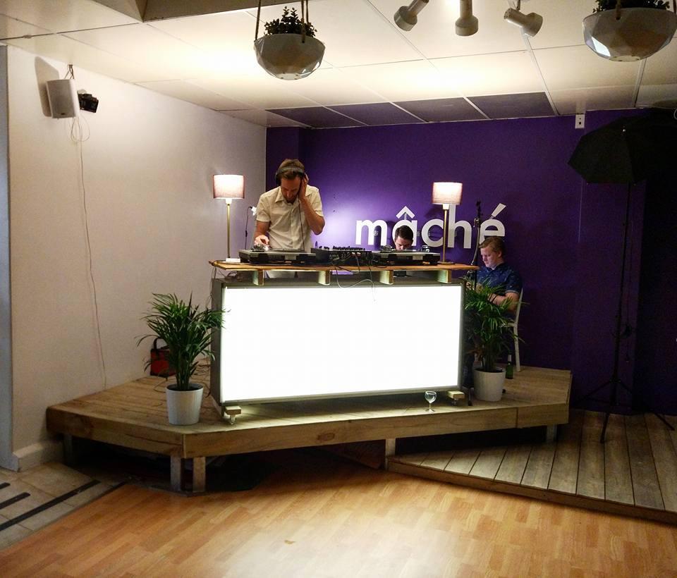 DJ at Mache