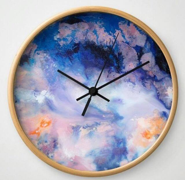 Clock by Emilia Rose
