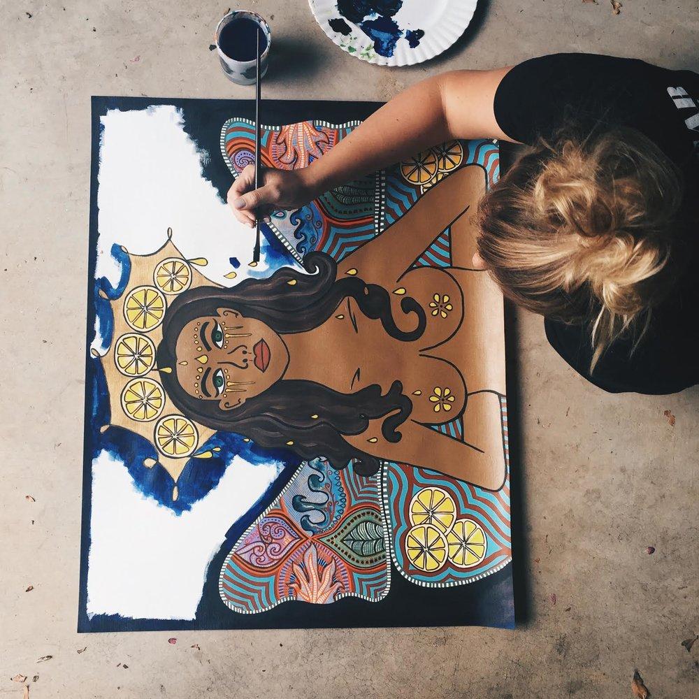 Kylie Grills Art