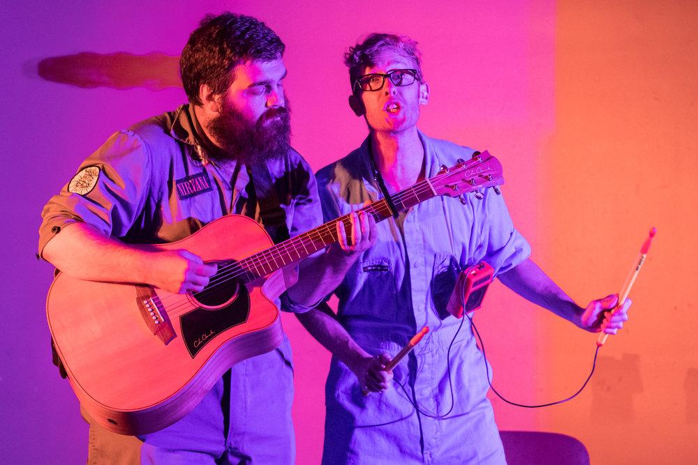 Al Lafrance and Shane Adamczak at Winnipeg Fringe Festival 2017 - Photo by Matt Duboff