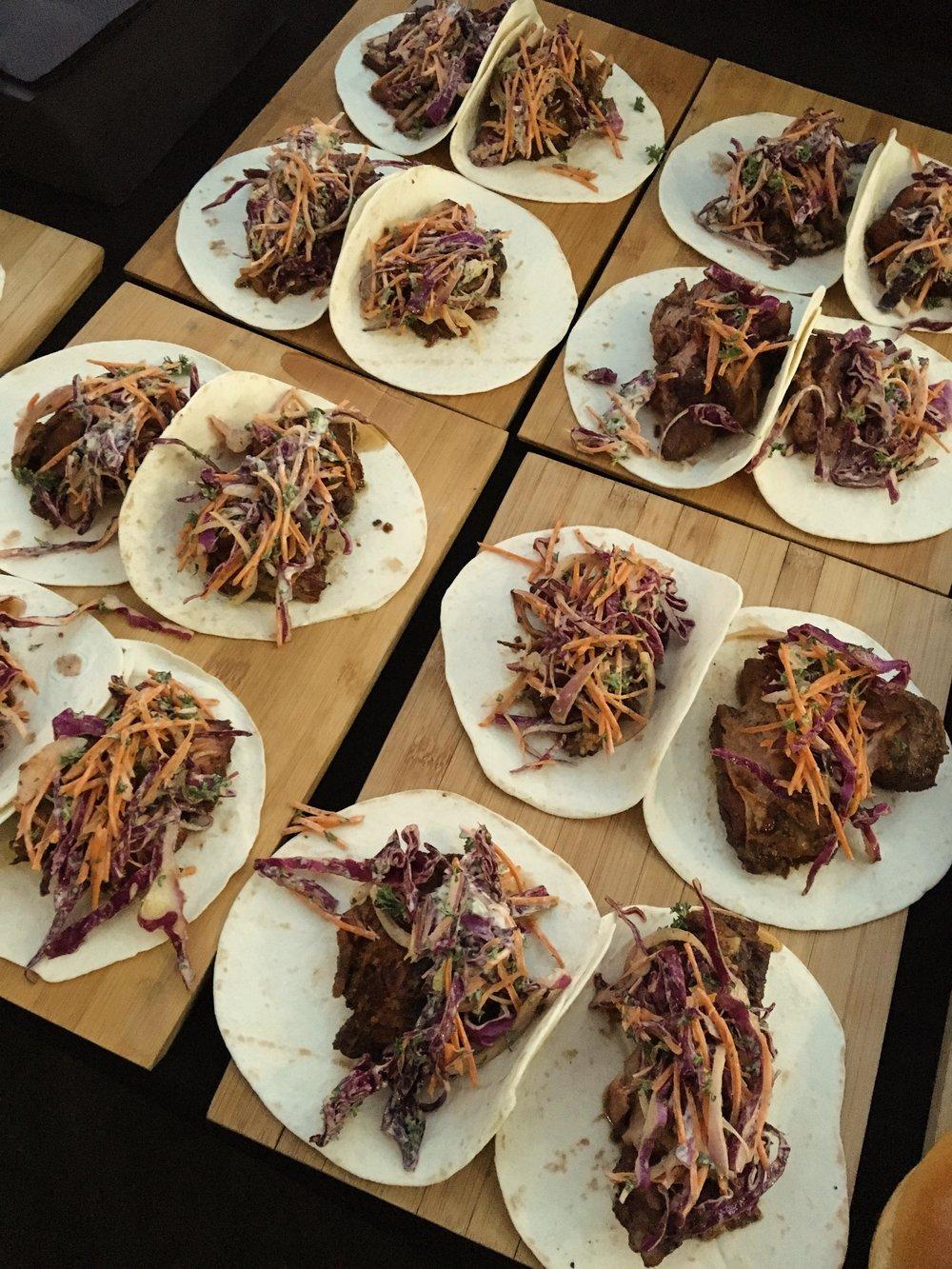 Pork Belly Burnt End Tacos