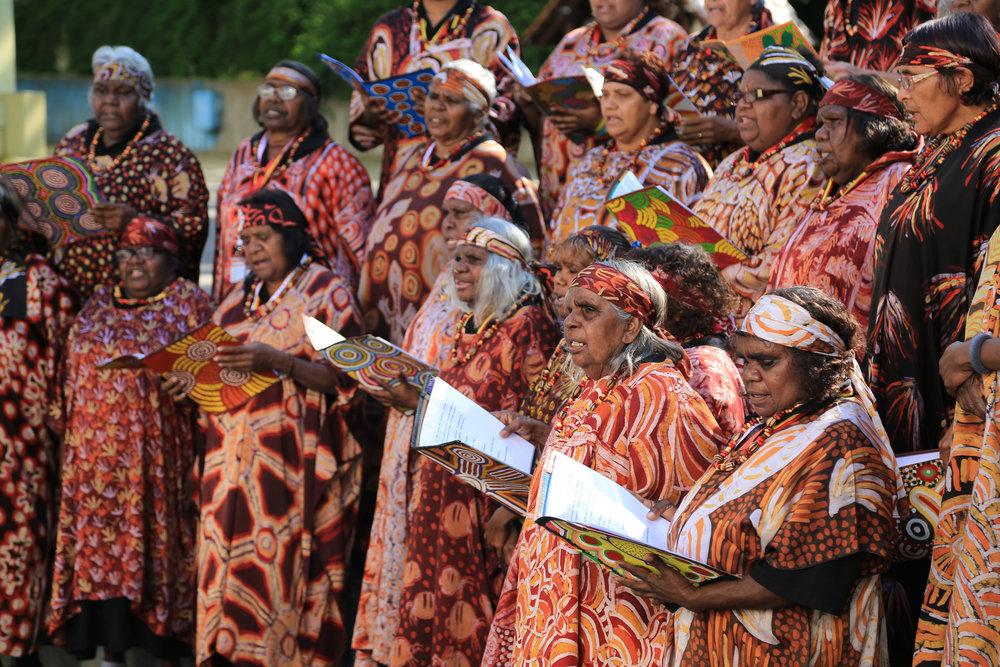 Central Australian Aboriginal Women's Choir