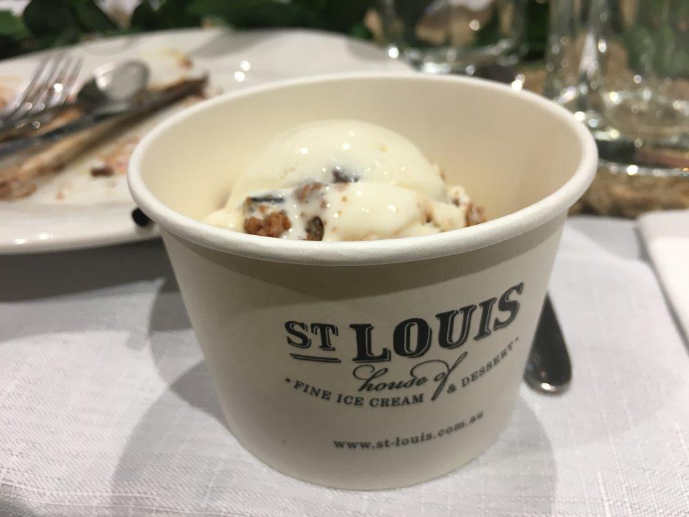 St Louis Christmas Pudding Ice Cream