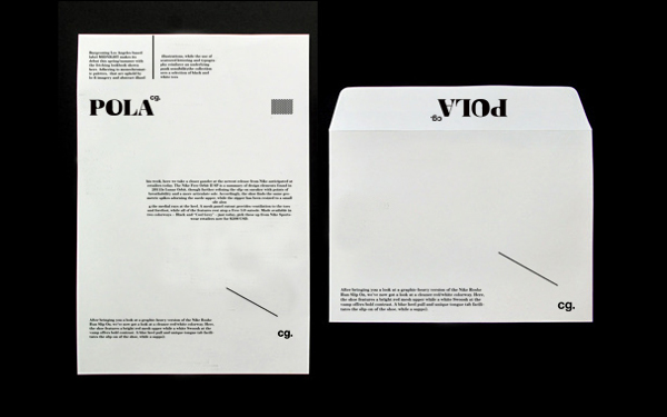 Graphic Design: Pola cg