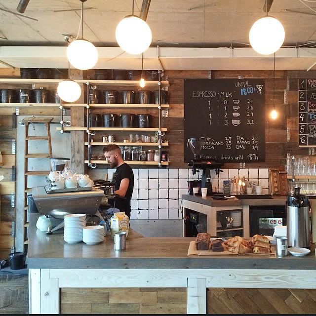 Breakfast at @kaschk - great coffee, and delicious banana bread #berlin #breakfast #coffee #caffeinefix