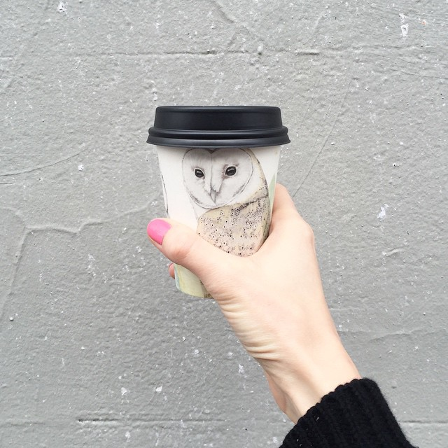 Cutest coffee cup I ever did see! #melbourne #coffee #design #thirtyeightchairs