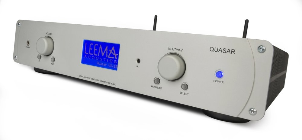 Quasar: amp, DAC and streamer in one - Everything for the modern lifestyle; just add speakers