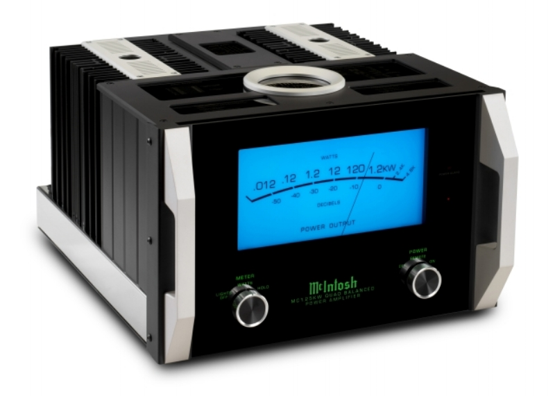 MC1.25KW - McIntosh's most powerful single-chassis monoblock amp