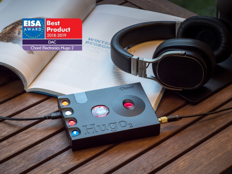 Hugo 2 wins EISA 2018/19 award - Europe's biggest award goes to the Hugo 2 DAC/headphone amplifier