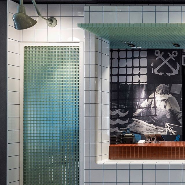 1/3 Amazing tile work at @fishboss.com.au @yagansquare