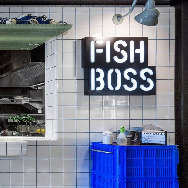 3/3 Amazing tile work at @fishboss.com.au @yagansquare