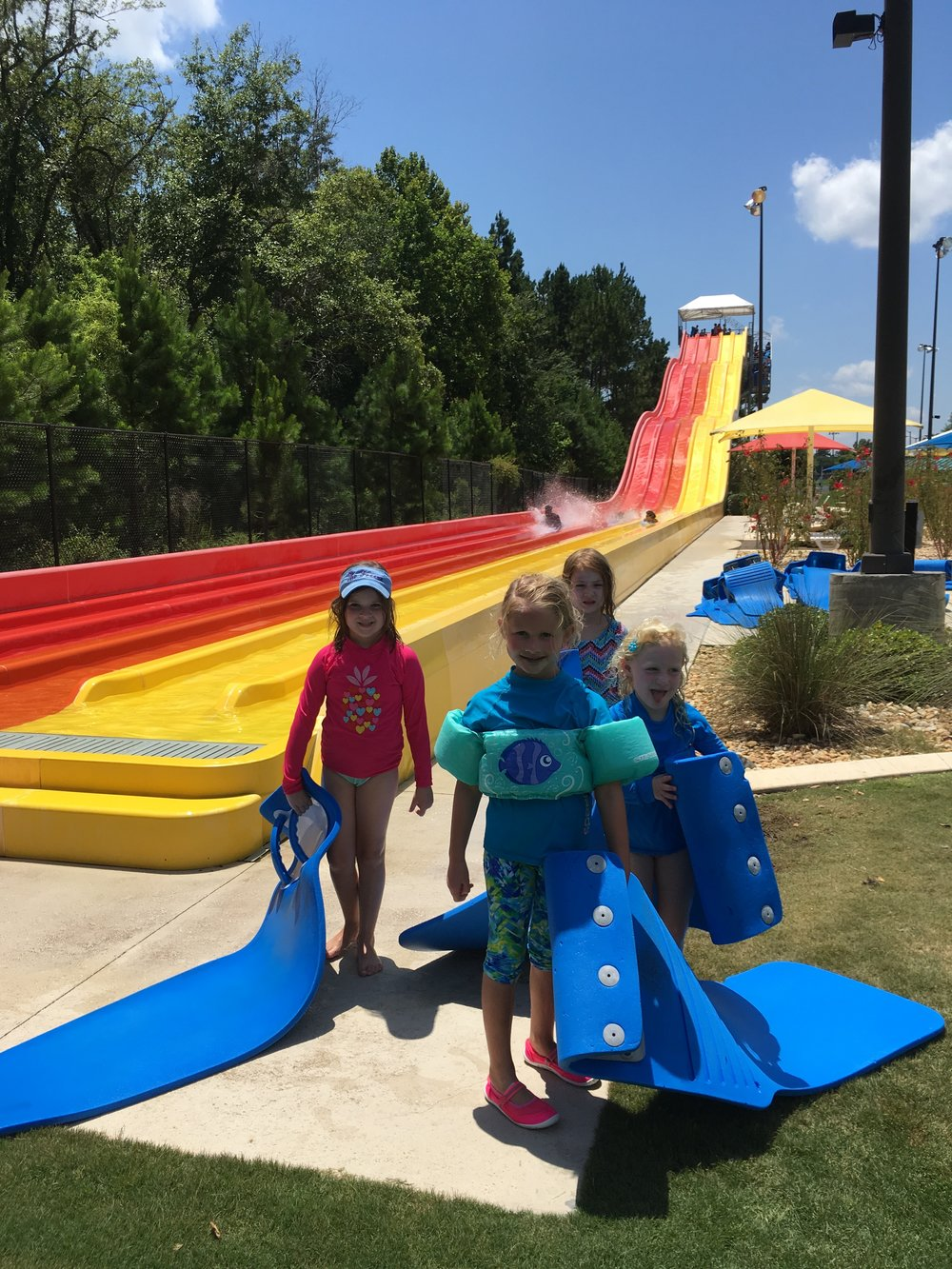 Childrens Trip To Splash In The Boro Water Park Fbc Macon