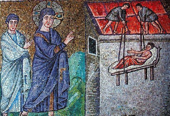 Mosaic in Basilica of Sant'Apollinare Nuovo
