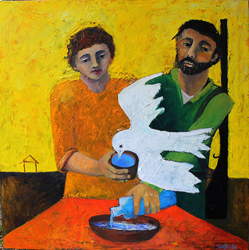 Thirsty Dove, Sarah Dopkins