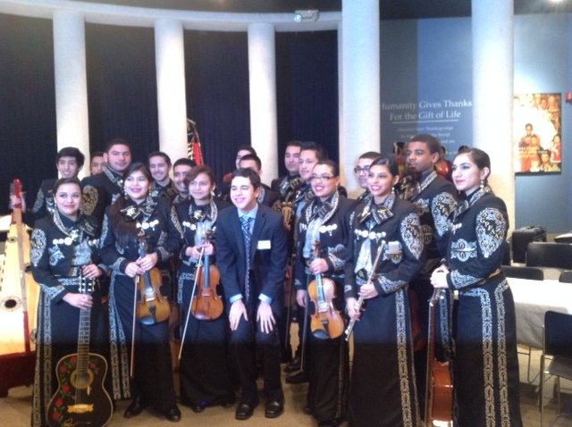 Mariachi Sol Azteca at the Festival of Faiths at Thanksgiving Square in Dallas, TX